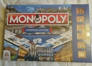 New and Sealed Winning Moves Monopoly Liverpool FC Edition Football Board Game