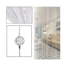 Eve Split Decorative Door String Curtain Beads Wall Panel Fringe Window Divid...