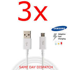 Samsung Galaxy S6, Edge S7 Note 5/4 A3/A5 15/16 Fast Charger USB Data Cable Lead