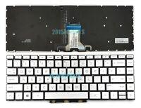 New HP Pavilion x360 14-cd0000 14m-cd0000 14t-cd0000 Keyboard Backlit Silver US