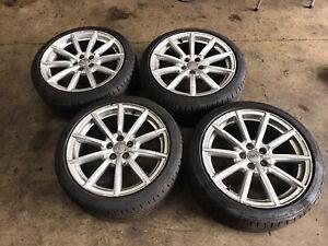 "Audi A1 S1 8X 17"" 10 Spoke Alloy Wheels 8X0601025BM With 215/40 R17 Tyres"