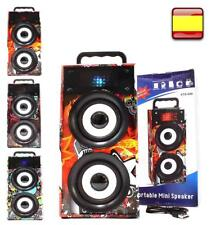 Altavoces Altavoz portatil Bluetooth torre multimedia usb sd Radio fm aux
