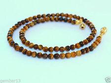 Tigers Eye Round Stone Costume Necklaces & Pendants