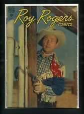 Roy Rogers Comics #4 G 1948 Dell Photo Cover Comic Book