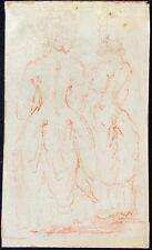 """Dans le goût de Claude GILLOT (1673-1722)  """"le maitre de Watteau """" sanguine"""