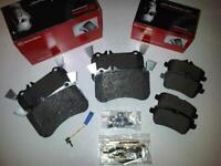 MERCEDES A45 AMG + CLA 45 GLA45 FRONT & REAR GENUINE BRAND NEW BREMBO BRAKE PADS