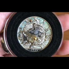Hobo Nickel Hand Engraved Walking Liberty silver coin 1935