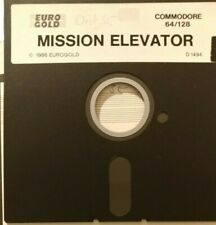 Mission Elevator (Eurogold, 1986) Commodore C64 (Diskette) 100% ok