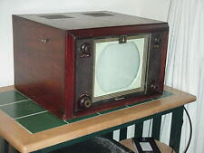 Antique Television 1949 Emerson Wood Deco