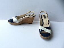 PRINCIPLES Ladies Slingback Wedge Heel Sandals, Size - UK 8 / EU 41