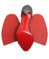 """2 pair NEW GTO sole protector repair for red soled louboutin shoes 4""""x6"""""""