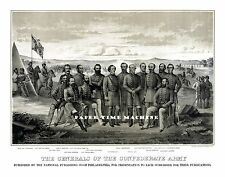 Generals of the Confederate Army Robert E Lee Stonewall Jackson Fine Art Print