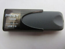 PNY Turbo 128 GB High Speed Flash Drive Black and Silver (P-FD128TBAT4-GE) - VG