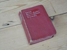 Vintage Collins Foreign Dictionaries German English Dictionary 1950s Collectable