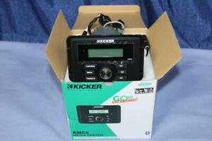 Kicker KMC3 Marine Media Center in-Dash Receiver Bluetooth, USB,AM,FM,Aux