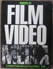 Heresies: A Feminist Publication on Art & Politics Film / Video / Media, Issue 1