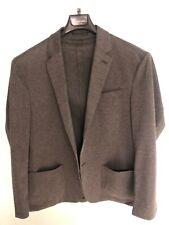 Mens Canali Suit Jacket Grey Size Large