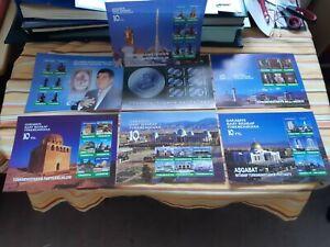 Turkmenistan - 10 Jahre Unabhängigkeit / Independence  2001 (o/used/gestempelt)