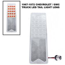 67-72 Chevrolet GMC Truck 20-LED Clear Tail Turn Signal Park Light 1157 Lens