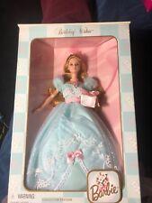 Birthday Wishes Barbie Blue Dress 1999. Original Packaging