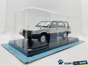 1:24 Domestic famous car collection Toyota Sprinter Carib 1982 Silver
