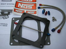 NOS/NITROUS/NX/ZEX/EDELBROCK/ BIGSHOT HOLLEY DOMINATOR PLATE KIT 175-375HP-NEW!