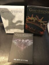 Game of Thrones HBO DVD Box Set Lot Seasons 2-4  & Blue ray 6-7