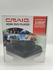 NEW Craig CVD401a  DVD Player 1080p Upconversion with HDMI Output and Remote