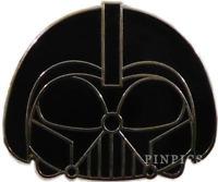 Star Wars Disneyland Galaxy Disney Pin 120051 Tsum Tsum Mystery Darth Vader