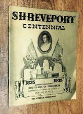 Shreveport, Louisiana, Centennial, Genealogy, 1967 Reprint
