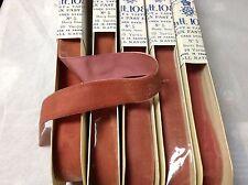 "10 Yard 7/8"" Vintage Velvet Ribbon Fabric Rayon Dusty Rose Color France"