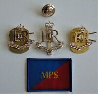 British Army Military Provost Staff Corps Cap/Collar Badges/Button and TRF