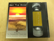 # Get The Edge 7 Days Transform Your Life OoP VHS Tape Movie Anthony Robbins