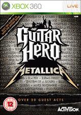 GUITAR Hero: metallica ~ XBOX 360 (in ottime condizioni)