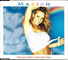 MARIAH CAREY & TREY LORENZ Thank God I w/ POSTER w/ RARE MIX CD Single found you