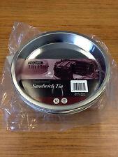 SINGLE Progress (Tin Plate) Round Sandwich Pan 18.5(dia) x 2.5cm Deep (SAND0022)