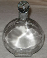 "Vintage Nina Ricci L 'Air du Temps Lalique Perfume Bottle - 8 1/2"" Ht - 1940's"