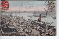 AK Ansichtskarte Kopenhagen / Hafen - 1906