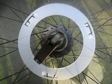 Bike Wheel Spoke Protector Guard disque pour 70 mm grand Bride moyeux & 36 rayons