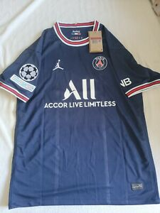 2021/2022 PSG Home Jersey with UCL Patch - Messi #30 - L