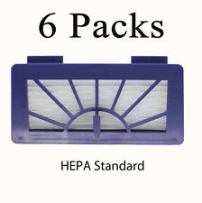 6X Pack Replacement Pet & Allergy Filters for Neato XV 945-0048 Robotic Cleaner