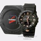 Authentic Casio Women's Black/Rose Ana-Digi Dual Display Watch GA810B-1A4