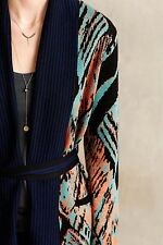 Anthropologie NWT Moonrise Cardi L Cynthia Vincent $198 Cardigan Sweater Large