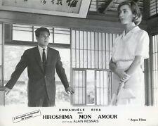 EMMANUELLE RIVA HIROSHIMA  MON AMOUR 1959 VINTAGE LOBBY CARD RESNAIS DURAS
