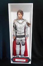 Lancelot ~ medieval Knight Guinevere King Arthur barbie KEN doll ooak custom