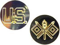 U.S. Army NCO/EM Signal Corps Collar Disk PIN Brand New Set