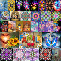 5D DIY Diamond Painting Cross Stitch Embroidery Mosaic Kit Home Craft Decor