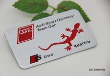 D921 Quattro S Line auto aufkleber top 3D Emblem Badge Schriftzug car Sticker