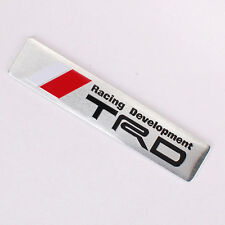 Aluminum MOTOR SPORT T RACING DEVELOPMENT Metal Car Rear Badge Emblem Sticker