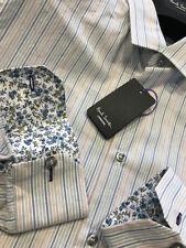 Camicie classiche da uomo polsino singolo multicolore